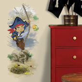 Captian Jake and Neverland Pirates Scence Decal