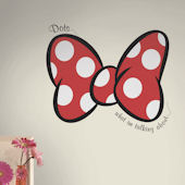 Minnie Dots What Im Talking About Giant Wall Decal