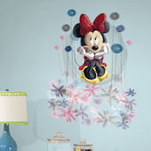 Minnie Mouse Floral Giant Wall Decal