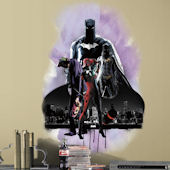 Batman With Villians Giant Wall Decal
