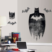 Batman Silhouette Giant Wall Decal