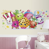 Shopkins Pals Giant Peel and Stick Wall Decals