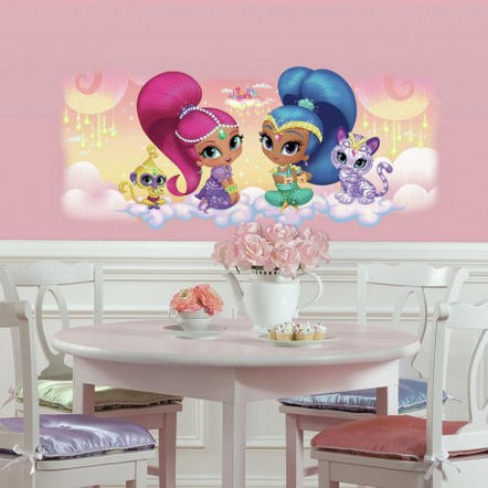 Shimmer and Shine Burst Wall Decals - Wall Sticker Outlet