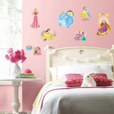 Disney Princess Friendship Adventures Wall Decals - Wall Sticker Outlet