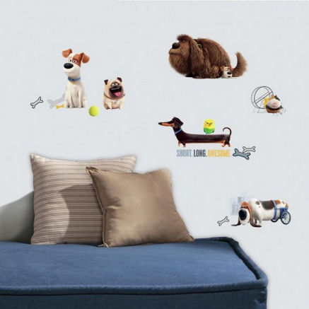 Secret Life of Pets Boys Wall Decals - Wall Sticker Outlet