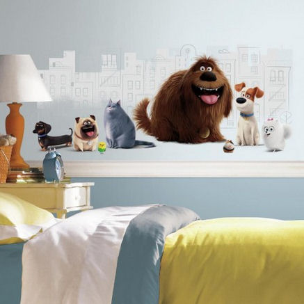 Secret Life of Pets Giant Wall Decals - Wall Sticker Outlet