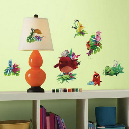 Angry Birds the Movie Wall Decals - Wall Sticker Outlet