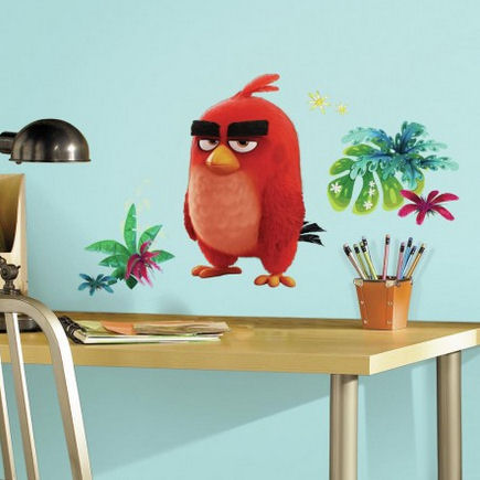 Angry Birds Red Giant Wall Decals - Wall Sticker Outlet