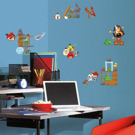 Angry Birds 2.0 Wall Decals - Wall Sticker Outlet