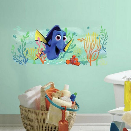 Finding Dory and Nemo Giant Wall Decals - Wall Sticker Outlet