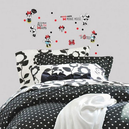 Minnie Rocks the Dots Wall Decals - Wall Sticker Outlet