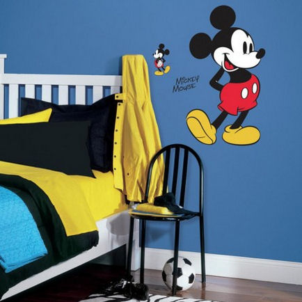 Disney Mickey Mouse Giant Wall Decal - Wall Sticker Outlet