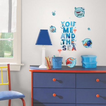 Finding Dory and Friends Wall Decals - Wall Sticker Outlet