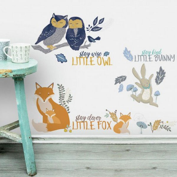 Patina Vie Animal Peel and Stick Wall Decals - Wall Sticker Outlet