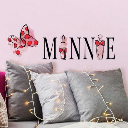 Minnie Mouse Perfume Wall Decals  - Wall Sticker Outlet
