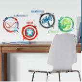 Marvel Icons Wall Decals
