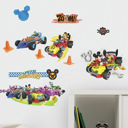 Mickey and the Roadster Racers Wall Decals  - Wall Sticker Outlet