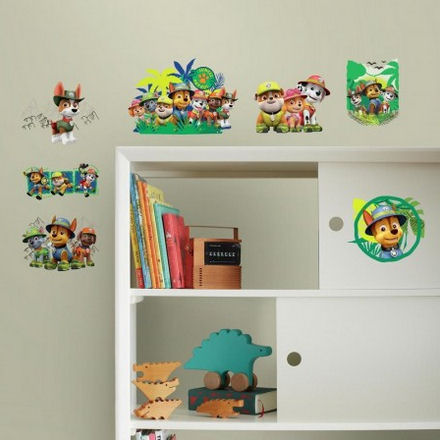 Jungle Paw Patrol Wall Decals  - Wall Sticker Outlet
