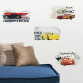 Cars 3 Racing Peel and Stick Wall Decals
