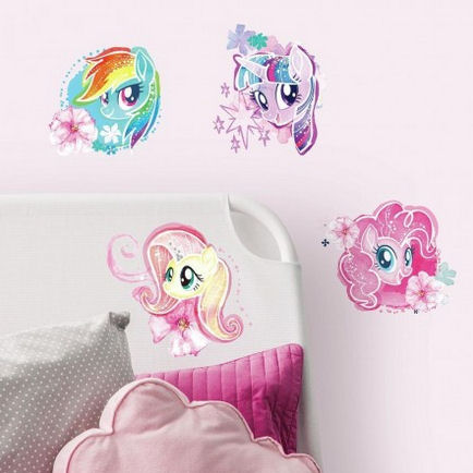My Little Pony Watercolor Wall Decals  - Wall Sticker Outlet