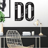 DO Motivational Peel and Stick Wall Decals