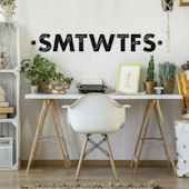 Letters of The Week Peel and Stick Wall Decals
