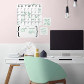 Dry Erase Calendar Set of Wall Decals