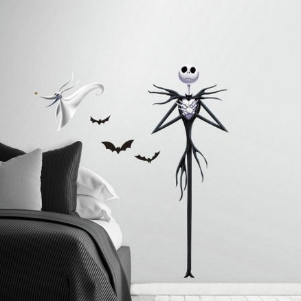 Nightmare Before Christmas Jack Wall Decal - Wall Sticker Outlet