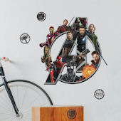 Marvel Avengers Infinity War Logo Wall Decals
