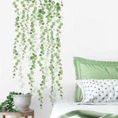 String of Pearls Vine Peel and Stick Wall Decals