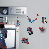 Ulitmate Spiderman Comic Wall Decals