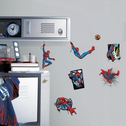Ulitmate Spiderman Comic Wall Decals - Wall Sticker Outlet