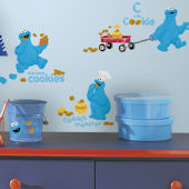 Me Love Cookie Monster Wall Decals