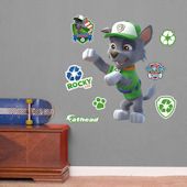 Fathead Paw Patrol Rocky Jr Wall Decal