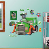 Fathead Paw Patrol Rockys Recyling Truck Decal