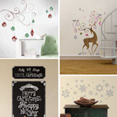 Holiday Complete Room Decal Pack One