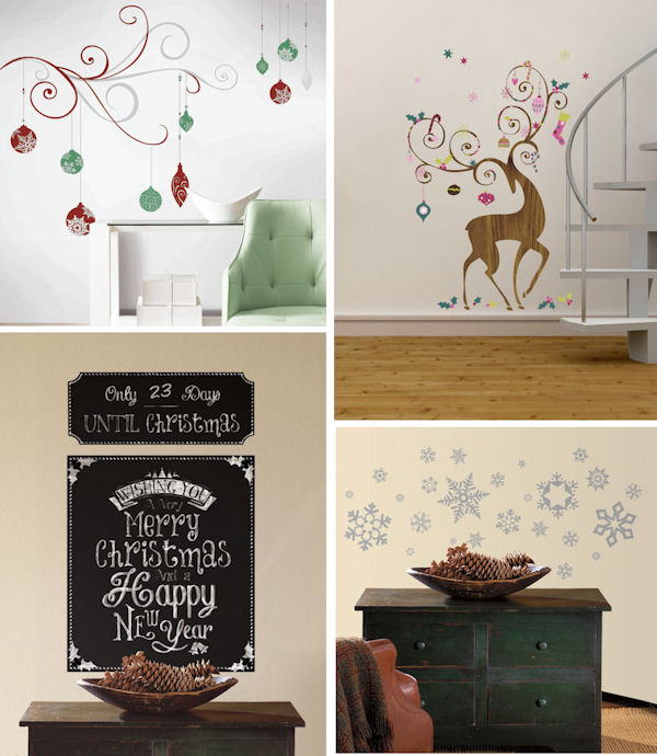 Holiday Complete Room Decal Pack One - Wall Sticker Outlet