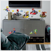 Mario Kart Wii Wall Decals