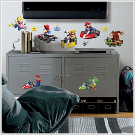 Mario Kart Wii Wall Decals - Wall Sticker Outlet