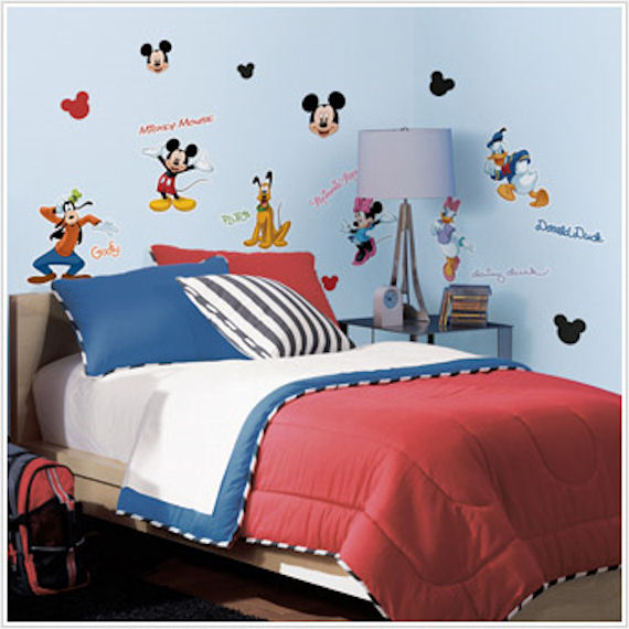Mickey and Friends Wall Decals - Wall Sticker Outlet