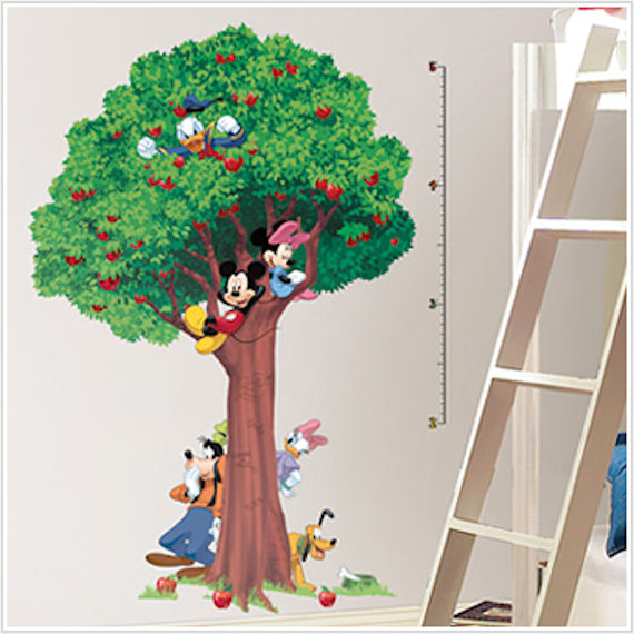 Mickey and Friends Growth Chart - Wall Sticker Outlet