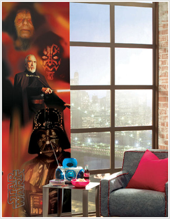 Dark Side Wall Panel - Wall Sticker Outlet