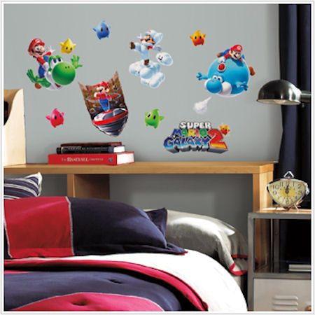 Super Mario Galaxy 2 Wall Decals - Wall Sticker Outlet