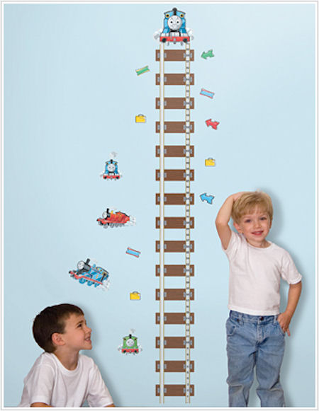 Thomas and Friends Growth Chart - Wall Sticker Outlet