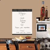 Menu Dry Erase Wall Decals SALE