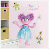 Sesame Street Abby Cadabby Giant Wall Sticker