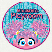 Abby Cadabby Playroom Custom Wall Decal