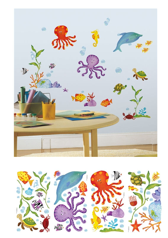 Adventures Under The Sea Wall Decals - Wall Sticker Outlet