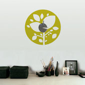Amazon Forest Clock and Wall Decals