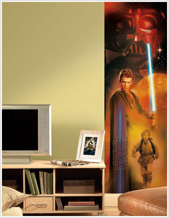 Star Wars Anakin Skywalker Wall Panel - Kids Wall Decor Store